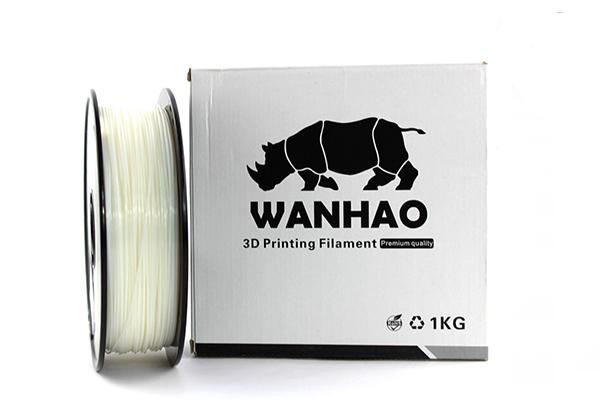PLA пластик Wanhao, 1.75 мм, natural, 1 кг