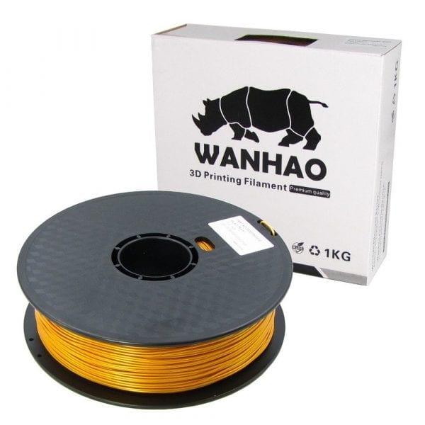 ABS пластик Wanhao, 1.75 мм, gold, 1 кг