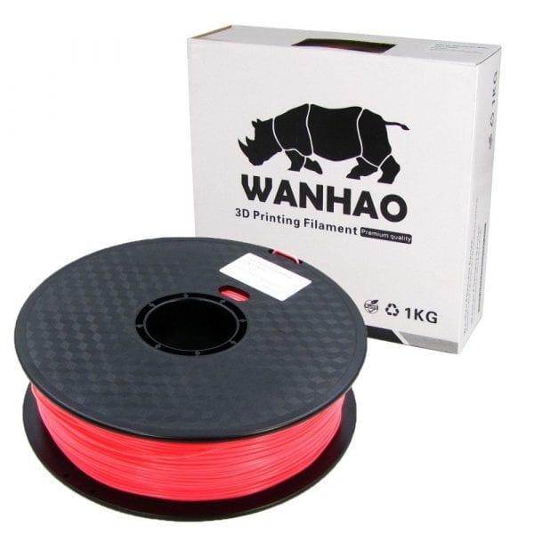 PLA пластик Wanhao, 1.75 мм, pink, 1 кг