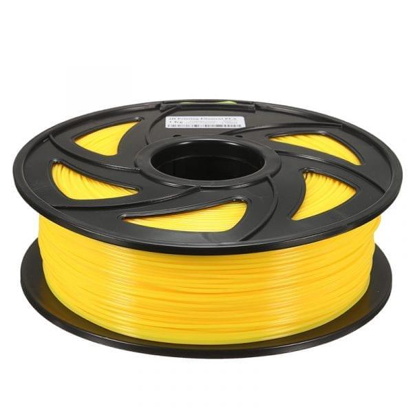 PLA пластик Wanhao, 1.75 мм, translucent yellow, 1 кг