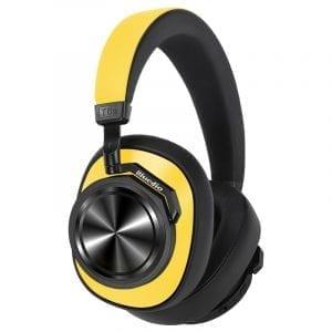 Наушники Bluedio T6S (желтые)
