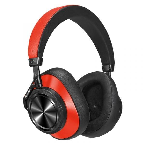 Наушники Bluedio T6S (красные)