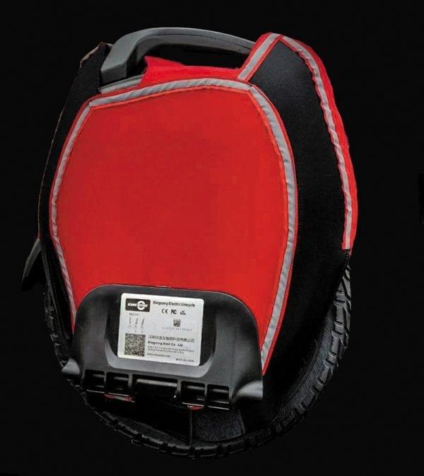 Чехол для моноколеса KS16X чёрно-красный
