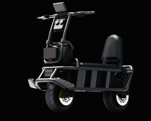 Электросамокат Extreme Bull K4 4400wh 100V