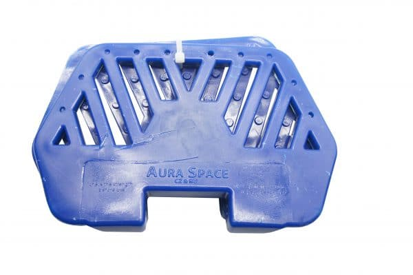 aura space pedals romb blue