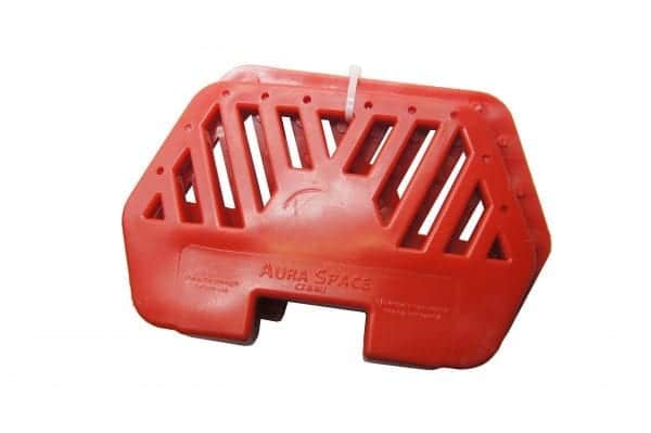 aura space pedals romb red