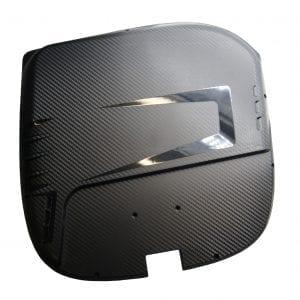 Корпус моноколеса GotWay MSuper Pro (Боковые накладки, комплект - 2 части) Black
