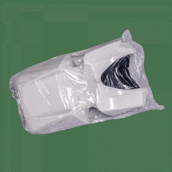 Корпус моноколеса KingSong S18 white (купол с резиновой заглушкой)