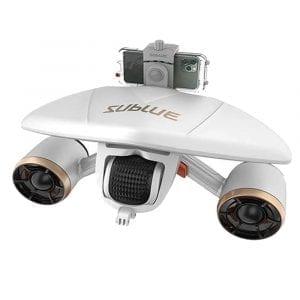 Электрический подводный скутер Sublue Mix Pro 120Wh White Gold