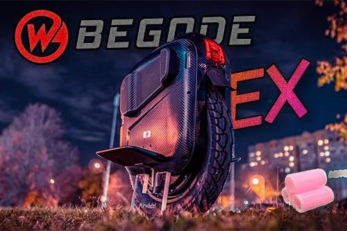 Begode EX. Внешний вид