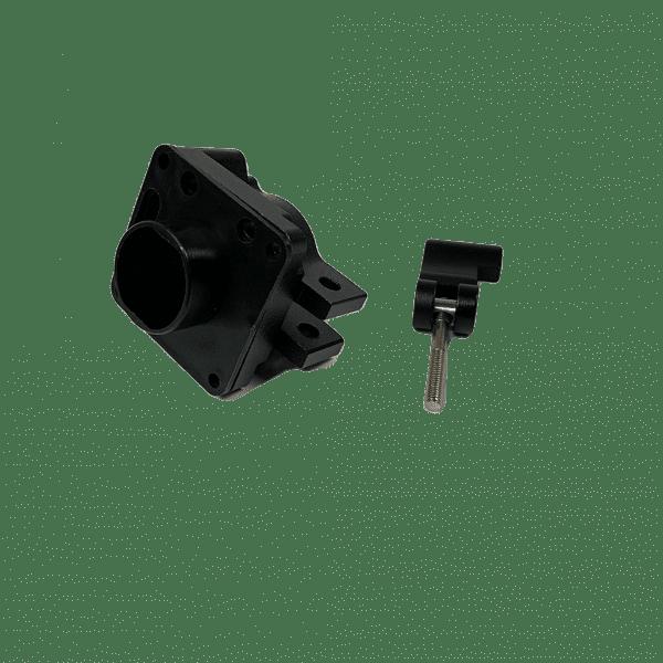 Хомут регулировки высоты руля электросамоката Starway Hero S9 (комплект 3 детали)