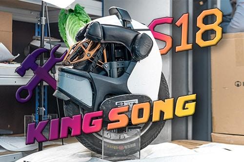 Kingsong S18. Разбираем после 1000км пробега.