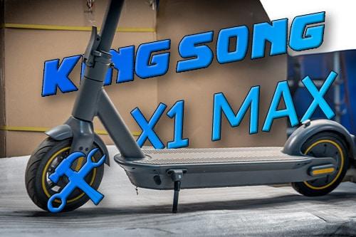 Kingsong X1 Max. Разбираем. Нахожу брата близнеца.