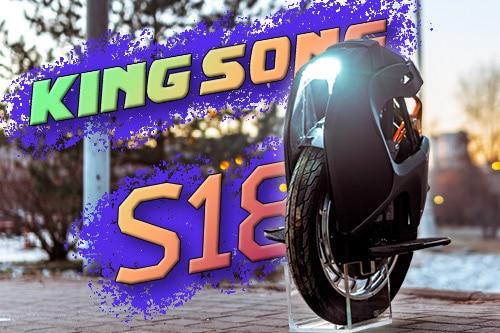 Kingsong S18. Предновогодний подарок.