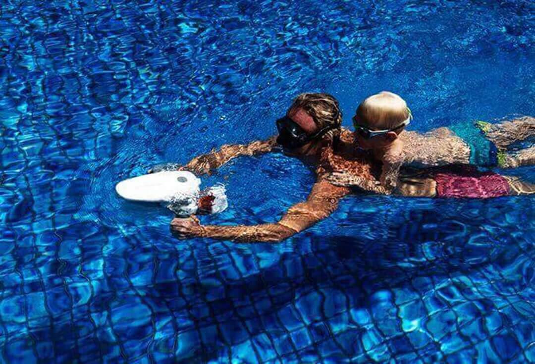Электрический подводный скутер Sublue Tini 98Wh White Shark