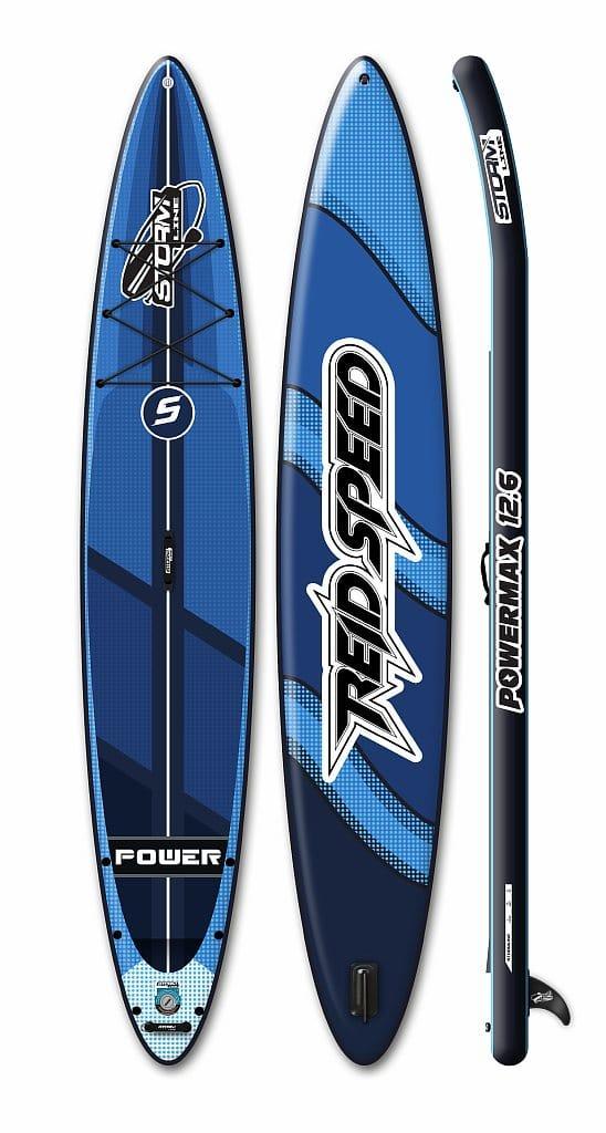 Надувная доска для sup-бординга Stormline Powermax 12.6 туринговая