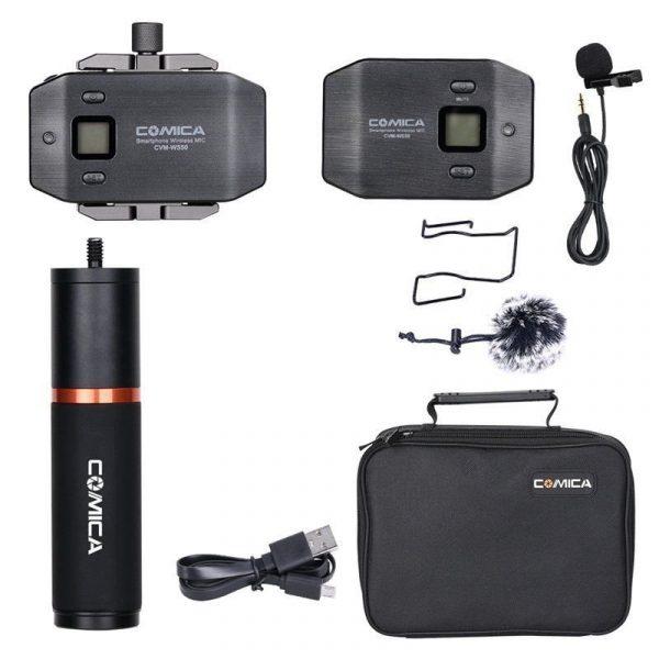 Петличная радиосистема для смартфонов Comica CVM-WS50 (B)