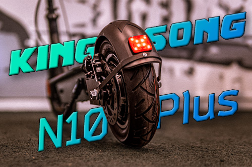 Kingsong N10 Plus. Новый хит 2021 с увеличенным аккумулятором.