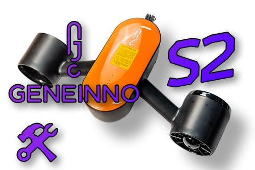 Geneinno S2. Изучаем, как устроен подводный скутер
