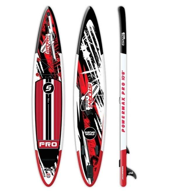 Надувная доска для sup-бординга Stormline Powermax PRO 12.6 спортивная