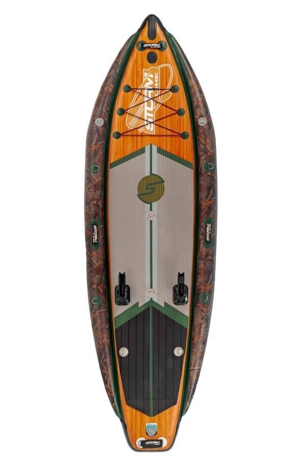 Надувная доска для sup-бординга Stormline Powermax Fishing PRO 10.6
