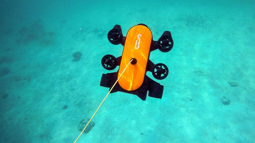 Электрический подводный дрон  Geneinno T1 150 метров
