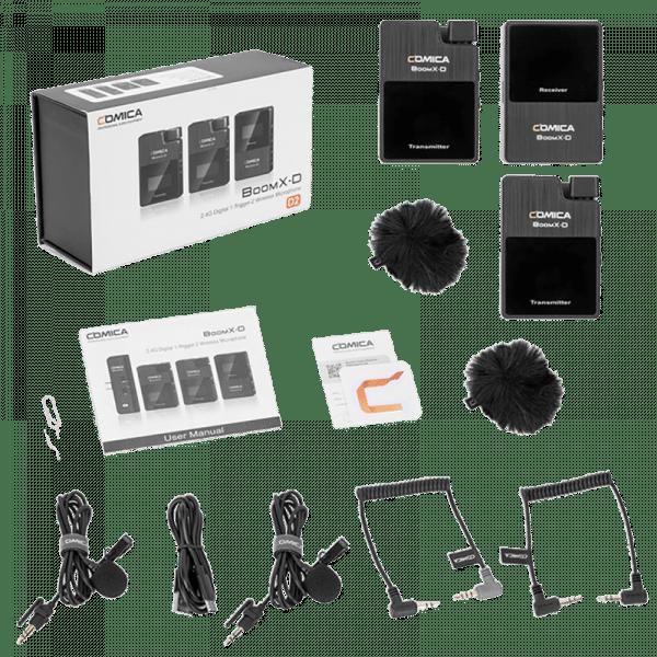 Радиосистема Comica BoomX-D D2