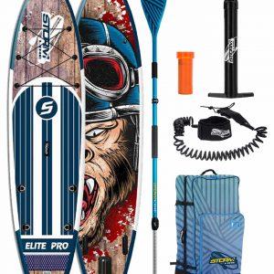 Надувная доска для sup-бординга Stormline Elite PRO 11.6 голубая