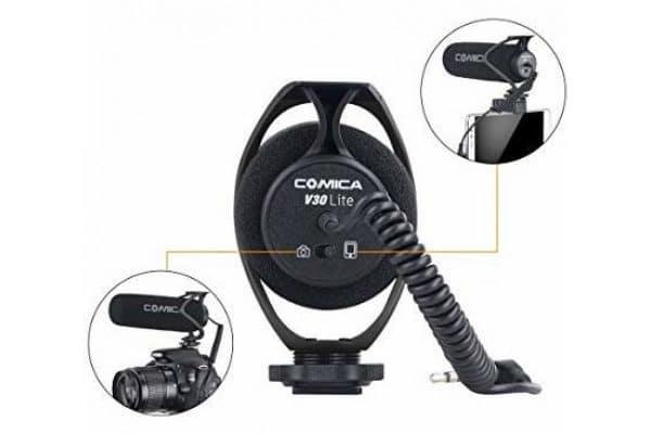 Микрофон Comica CVM-V30 LITE B