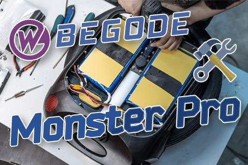 Begode Monster Pro. Заводские доработки