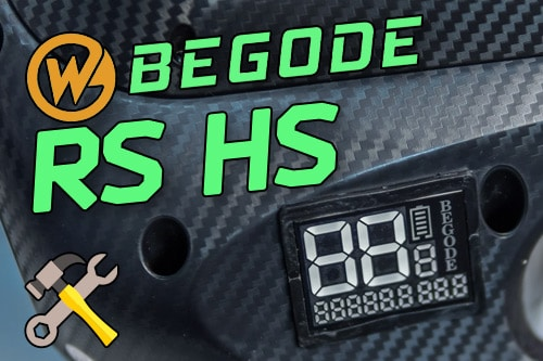 Begode RS HS. Очередное обновление