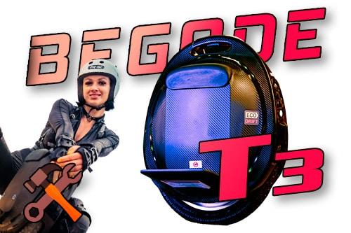 Begode T3. Странный звук