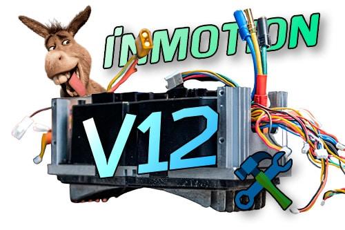 Inmotion V12. Разбираем второй предсерийный экземпляр после 740км.