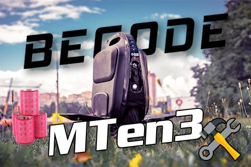 Begode MTen3. Самое компактное моноколесо