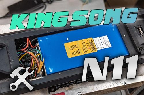 Kingsong N11. Разбираем