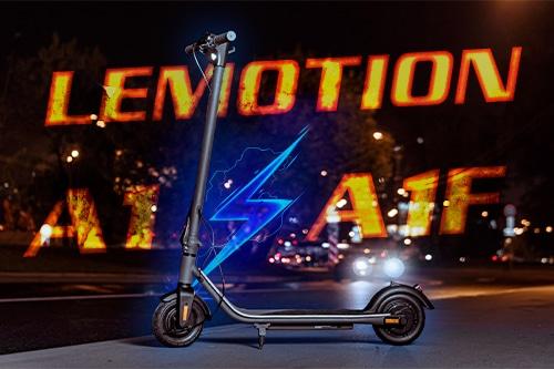 Lemotion A1F и A1. Первая партия серийных электросамокатов под новым брендом.