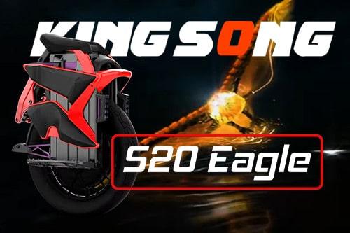 Моноколесо KingSong S20 2220Wh 126V подвеска