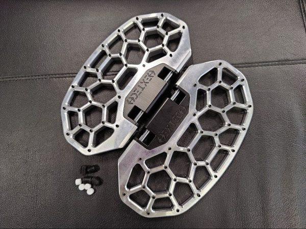 Металлические педали Hextech KingSong S18 серебристые
