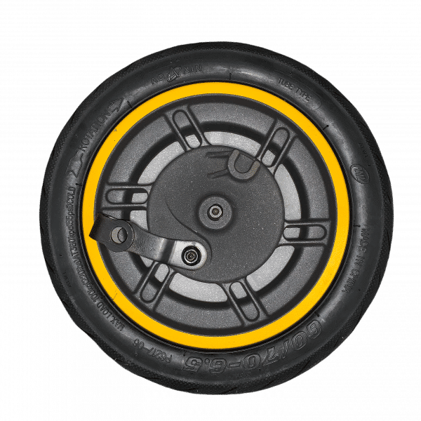 Переднее колесо в сборе электросамоката KingSong X1-Max (камера + покрышка)