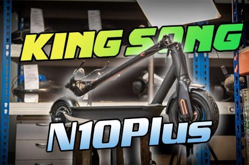 Kingsong N10Plus. Свежая партия с минимальными изменениями.