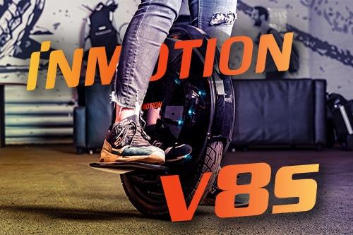 Inmotion V8S. Внешний вид и конструктивные особенности.