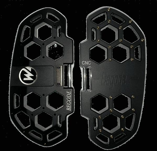 Педали моноколеса Begode (Gotway) HoneyComb CNC-BLACK (2 шт, ЧПУ)) RS,EXN,MSP,MSX,MonsterPro