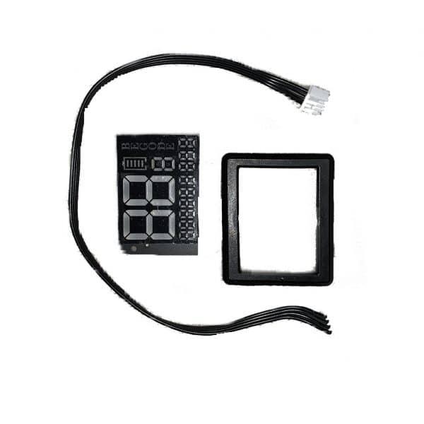 Дисплей моноколеса Begode (Gotway) RS - в сборе (рамка + кабель)